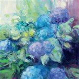 Bright Hydrangea III Art Print