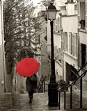 Paris Stroll II Art Print