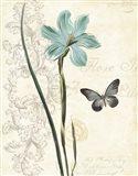 Lila Bleu I Art Print