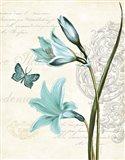 Lila Bleu II Art Print