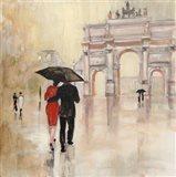 Romantic Paris II Art Print