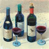 Wine Bouquet I Art Print