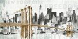 New York Skyline I Art Print