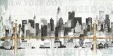 New York Skyline II Art Print