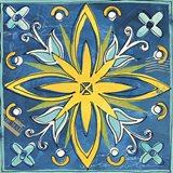 Tuscan Sun Tile I Color Art Print