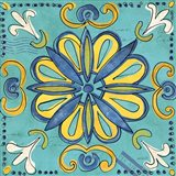 Tuscan Sun Tile IV Color Art Print