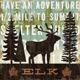 Simple Living Elk Art Print