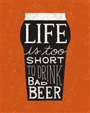 Craft Beer I Art Print