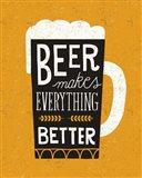 Craft Beer II Art Print