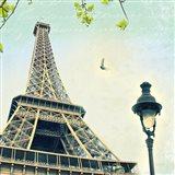 Paris Eiffel Letter Art Print