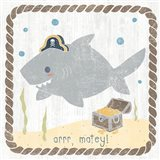 Nautical Friends IV Art Print