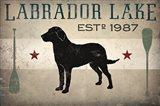 Labrador Lake Art Print