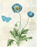Booked Blue IV Art Print