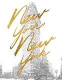 Gilded New York Art Print