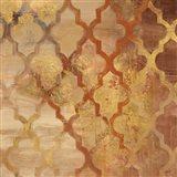 Gilded Rocking Moroccan Art Print