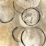 Circle in a Square II Art Print