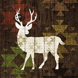 Southwest Lodge - Deer I Art Print