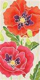 Sunshine Poppies Panel I Art Print