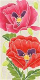 Sunshine Poppies Panel II Art Print