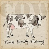 Farm Life I Art Print