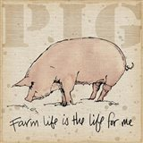Farm Life II Art Print