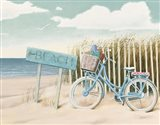 Beach Cruiser II Crop Art Print