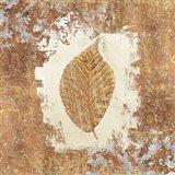 Gilded Leaf II Art Print
