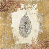 Gilded Leaf III Art Print
