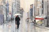 Spring Rain New York Art Print