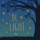 Twilight Fireflies IV Art Print