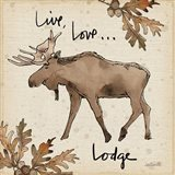 Lodge Life IV Art Print