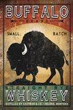 Buffalo Whiskey Art Print