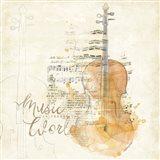 Musical Gift I Art Print