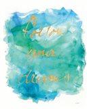 Sea Glass Saying Art Print