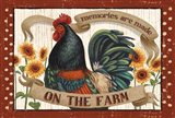 Country Heart II Dots Art Print