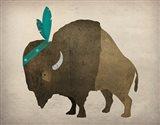 Buffalo Bison III Art Print