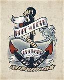 Sailor Wisdom I Art Print