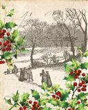 Vintage Holiday I Art Print