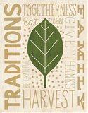 Family Tree Leaf IV Art Print