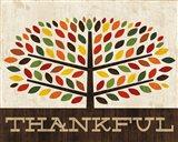 Family Tree - Thankful Art Print
