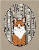 Forest Friends I Art Print