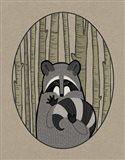 Forest Friends II Art Print