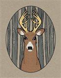 Forest Friends III Art Print