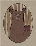 Forest Friends IV Art Print
