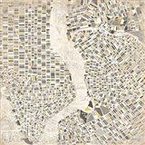 Neutral New York Map Art Print