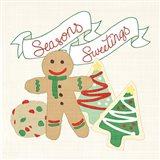 Seasons Sweetings IV v2 Art Print