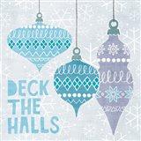 Deck The Halls III Art Print