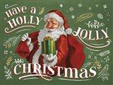 Santas List I Art Print
