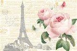 Roses in Paris I Art Print