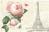 Roses in Paris II Art Print